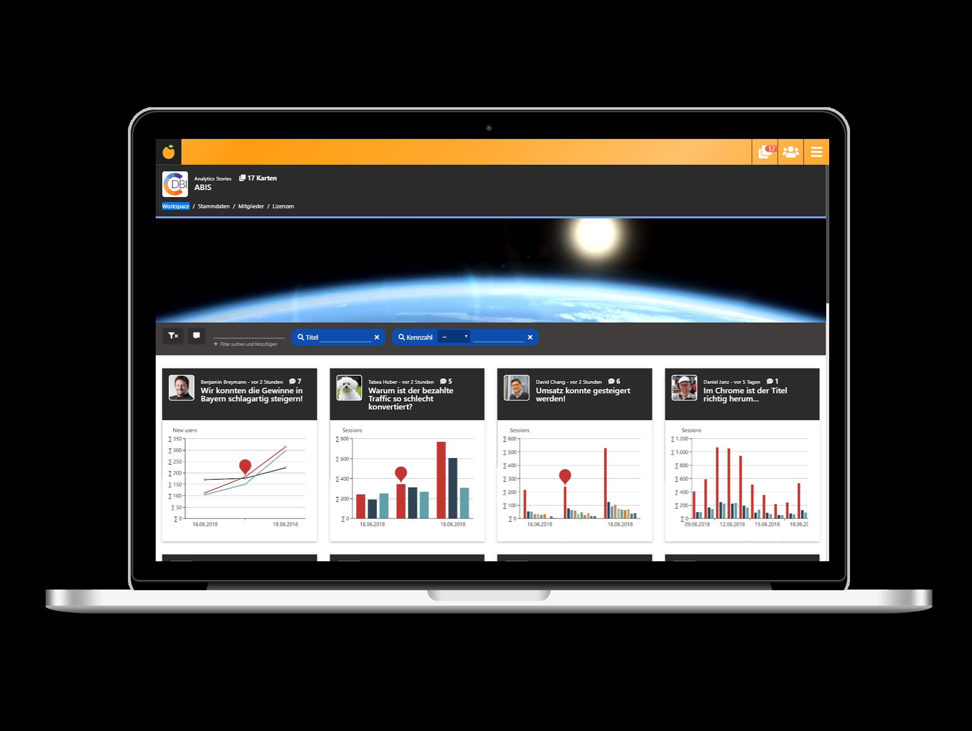 abis cloud analytics dashboard