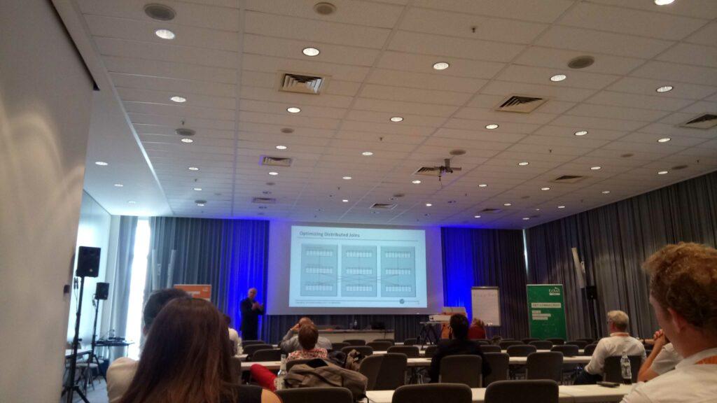 Rick van der Lans zum Thema Big Data Architektur am letzten Tag der Konferenztages