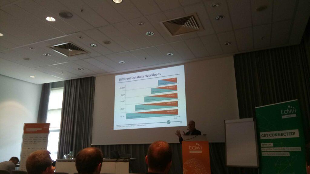 Rick van der Lans Vortrag zum Thema Big SQL Lösungen